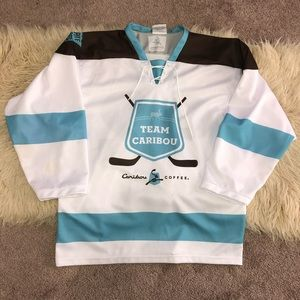 LIMITED EDITION RARE CARIBOU COFFEE JERSEY